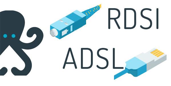 El fin de las líneas RDSI y ADSL